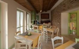 Sala interna B&B Le Maracla.