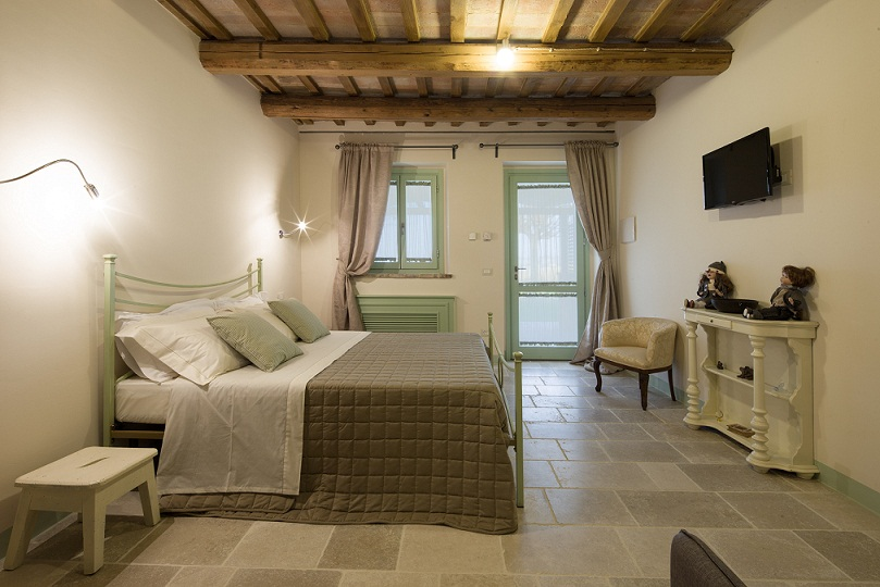 Le Maracla, country house, camere, b&b, camera Clarissa