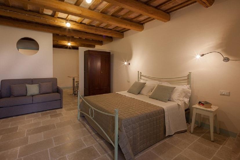 Le Maracla, B&B nella provincia di Ancona, camera Clarissa