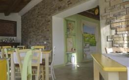 Sala interna Le Maracla.
