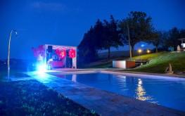 Le Maracla eventi bordo piscina.