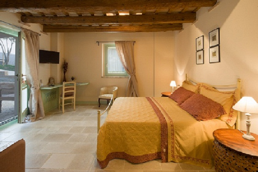 Le Maracla Bed and Breakfast a Jesi nelle Marche, camera Rachele.