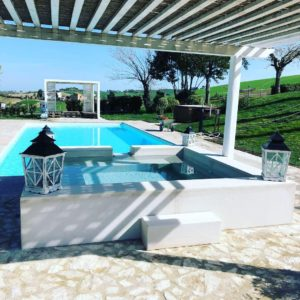 bed and breakfast con piscina country house agriturismo le maracla jesi marche